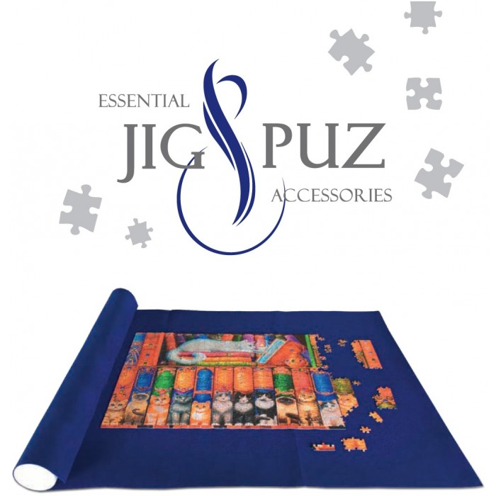 Jig-and-Puz-80003 Puzzle Mat 300 - 3,000 Pieces