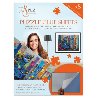 Jig-and-Puz - Puzzle Glue Sheets for 1000 Pieces