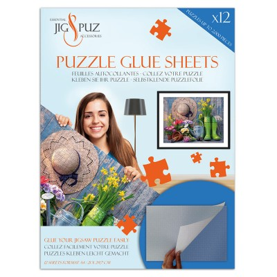 Jig-and-Puz - Puzzle Glue Sheets for 2000 Pieces